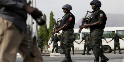 Police parades suspected armed robbers