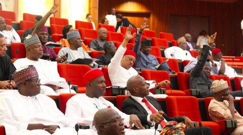 Rowdy session at Senate hearing