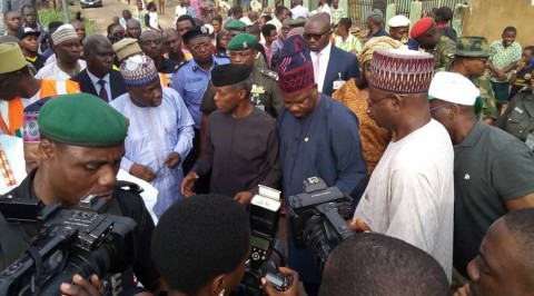 Osinbajo visits, commiserates with Abeokuta flood victims