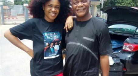 Actress Omoni Oboli recalls late father's birthday