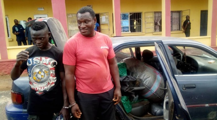 Police arrest pipeline vandals in Ogun