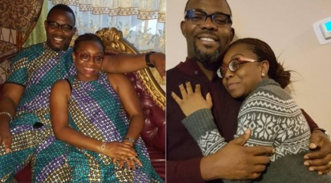 Comedian, Okey Bakassi celebrates 16th wedding anniversary