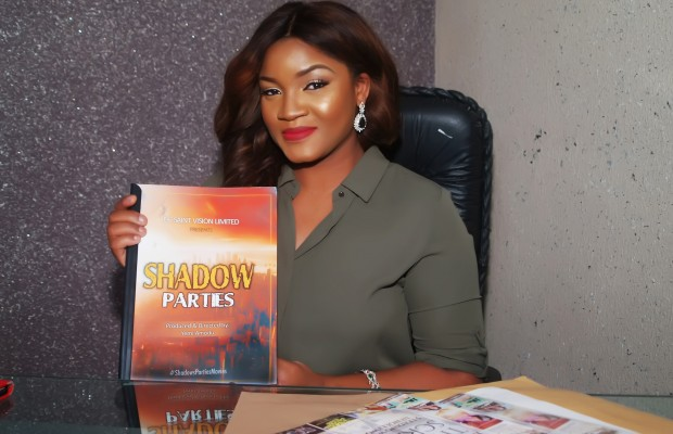 Omotola Jalade begins a new movie project