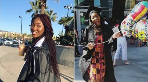 Omotola's second daughter graduates from high school