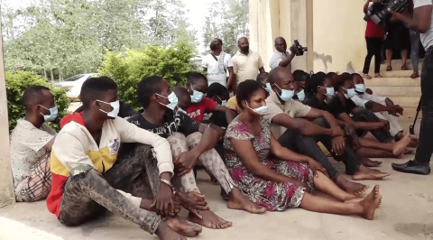 Police Parade 27 Suspects for Child Stealing, Kidnapping other Offences in Ondo