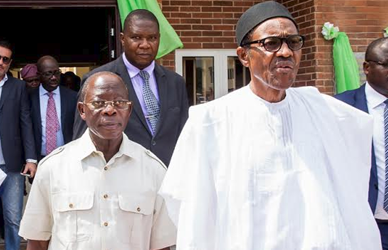 President Buhari is sick - Oshiomole