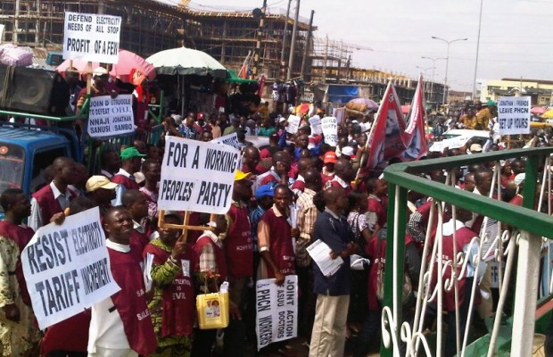Groups protest over epileptic power supply