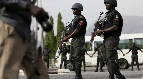 Police parades 55 notorious suspects