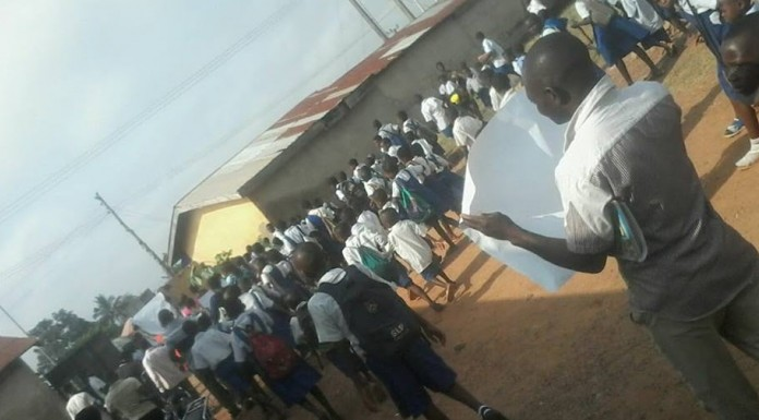 Plateau:Pupils Protest School Takeover