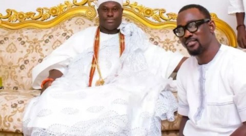 Pasuma visits Ooni of Ife for fatherly prayers toward his 50th birthday
