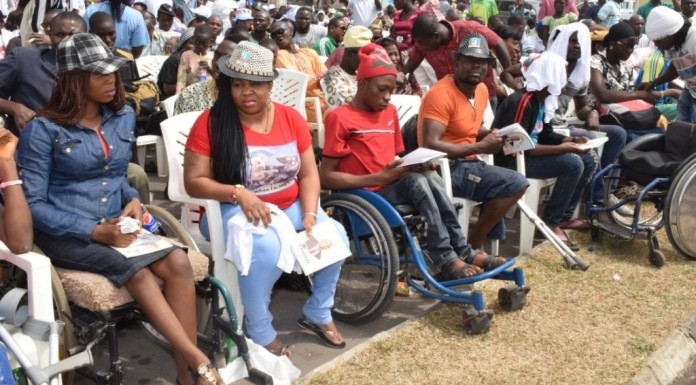 Candidate advocates support for challenged persons