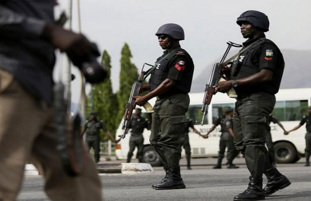 Police parades suspected kidnappers in Delta