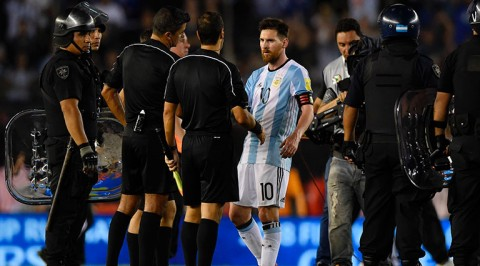 FIFA bans Messi for four matches