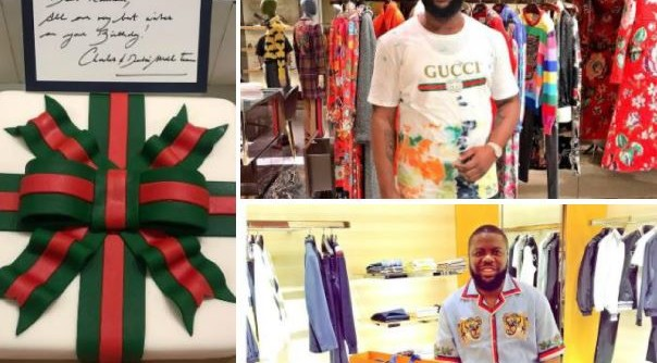 Hushpuppi gets special gift from Gucci