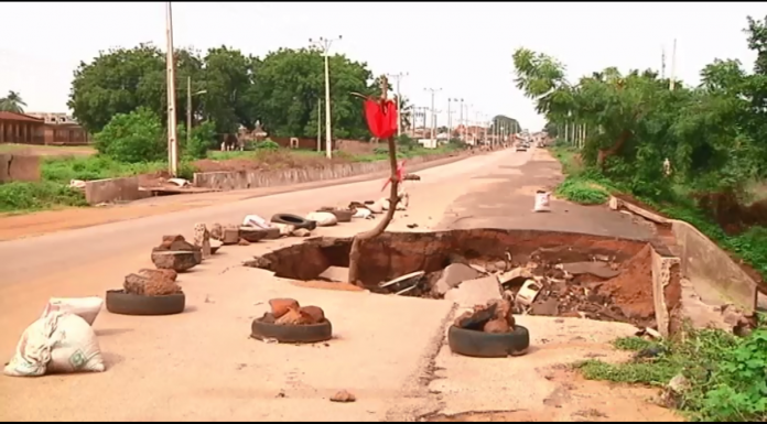 Kwara community laments bad road