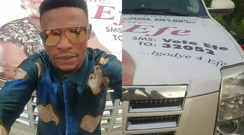 I Go Dye brands car to support Efe