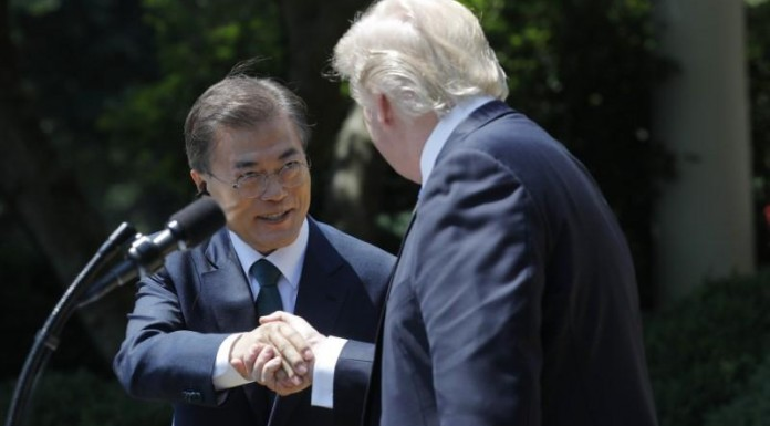 Trump and Moon agree on sactioning North Korea