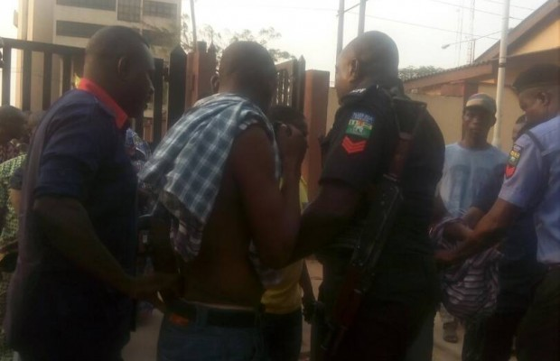 Police nab two in Lagos secretariat over alleged theft
