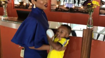 Actress Tonto Dikeh advises parents