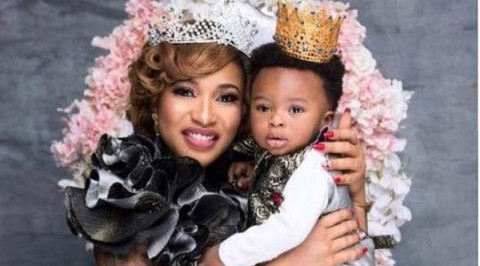 Churchill celebrates Tonto Dikeh on her birthday