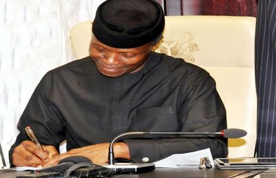 Osinbajo receives report on SRIP