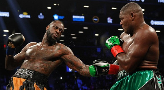 Wilder 'signs' for rematch vs Ortiz