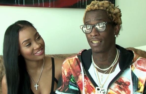 Young Thug urges fans to beg fiancee for cheating