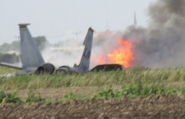 U.S. Air Force's F-16 jet crashes