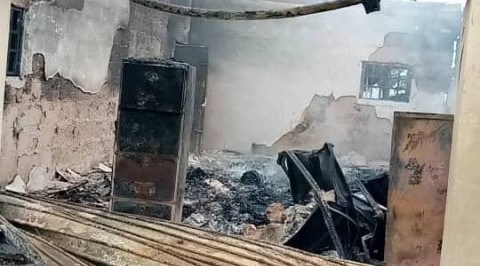 INEC Local Government Office in Abia State Set Ablaze
