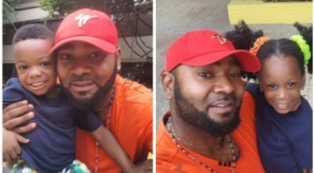 Nollywood actor celebrates twin babies