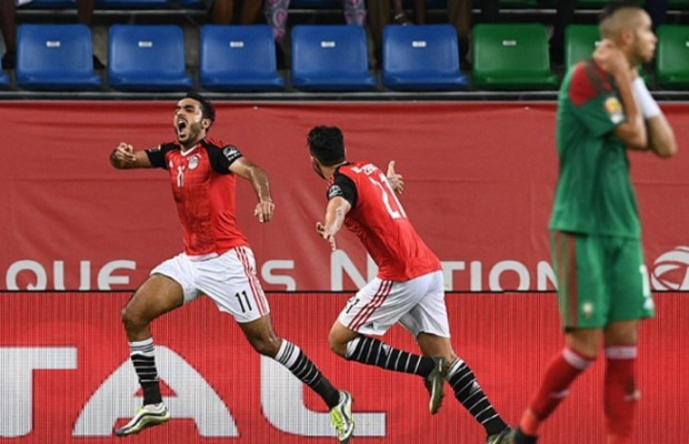 AFCON 2017: Egypt beat Morocco to book a spot in the Semis