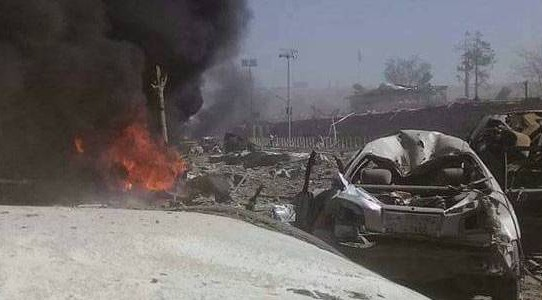 Islamic State claims responsibility for explosion at Kabul airport