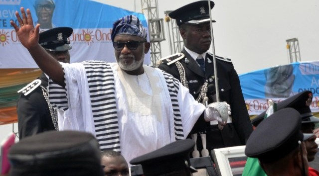 Gov Akeredolu returns to Ondo amid rumour