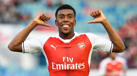Iwobi opens up on Okocha Impact, Wenger's departure