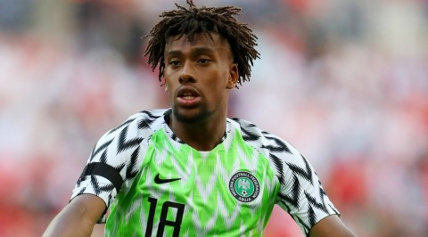 It wasn't easy picking Nigeria over England- Alex Iwobi
