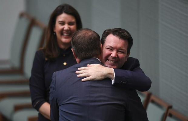 Australian lawmaker proposes to same-sex partner