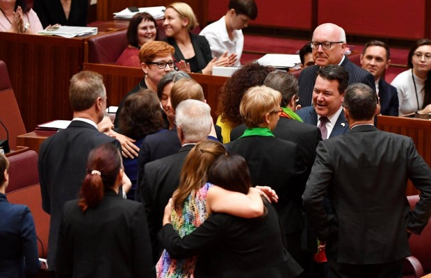 Same-sex marriage clears Australian Upper chamber