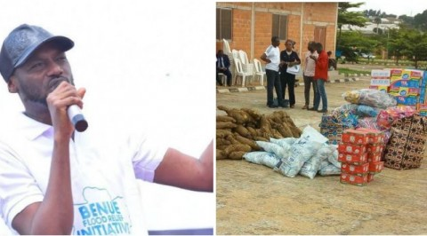 2face donates to Benue flood victims