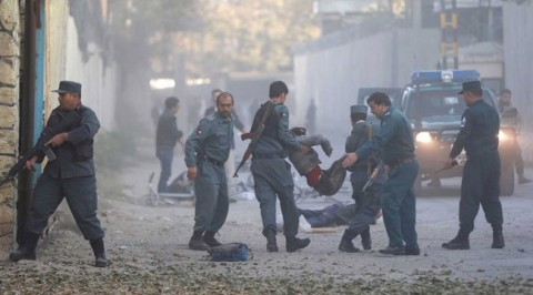 Blast hits Afghan capital Kabul