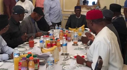 Read what Buhari discussed with APC governors