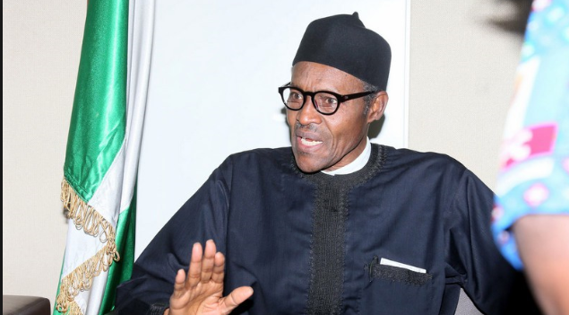 President Buhari urge detective of EFCC to help fight corruption