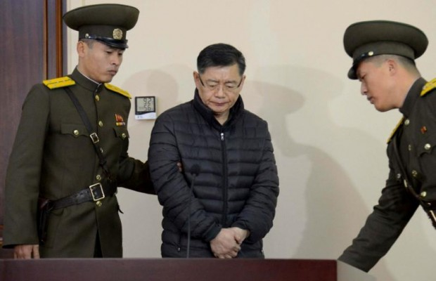 North Korea releases Canadian pastor in prison