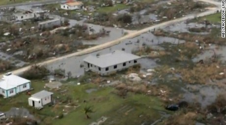 Hurricane destroys 90% of Caribbean Island