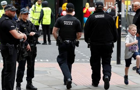UK police arrest 16th person in connection with concert attack