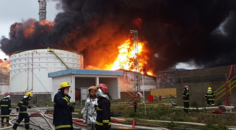 Deadly fire at China's Chemical factory