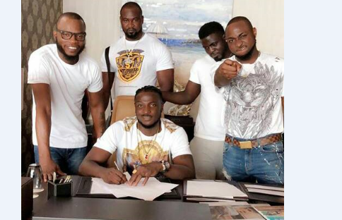 Davido signs new act to DMW