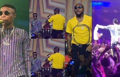 Galaxy Television | Davido, Wizkid ends rift, performs 'fia' together