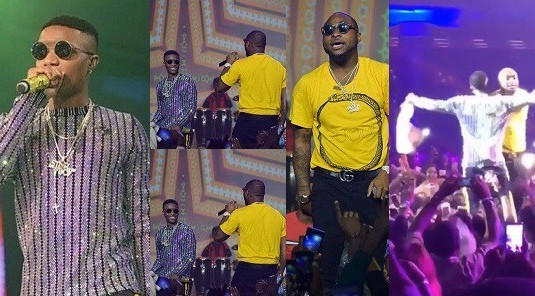 Davido, Wizkid ends rift, performs 'fia' together