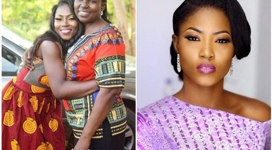 Debie-Rise expresses her love for her mother
