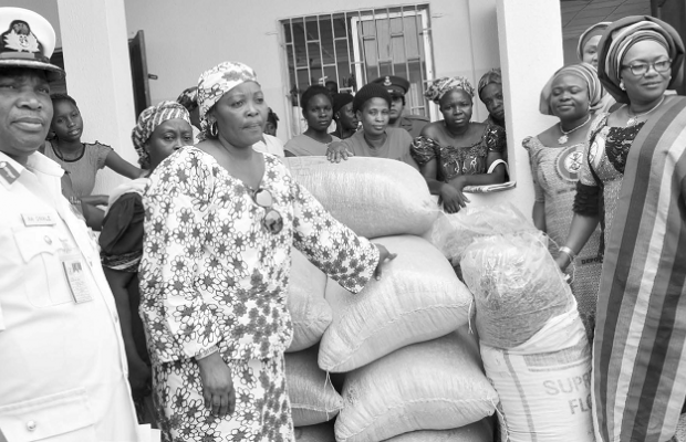 DEPOWA donates items to less privileged